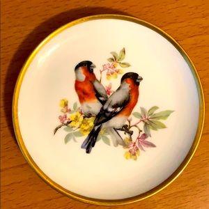 KAISER Vögel porcelain plate